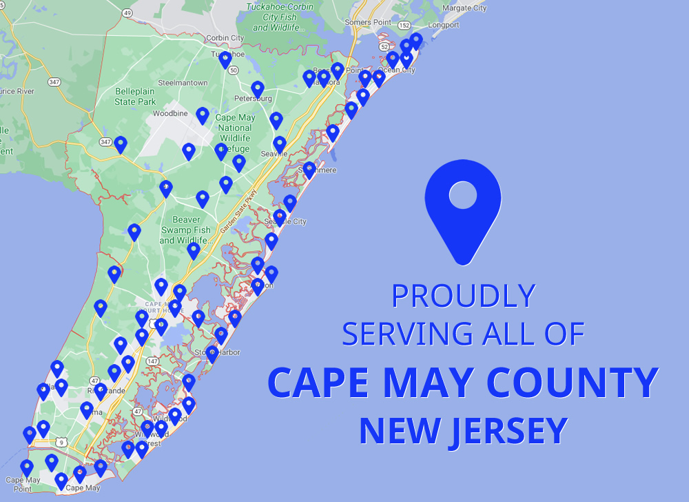 Servicing Cape May County New Jersey